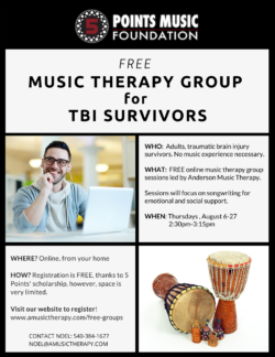 Songwriting Group for Brain Injury Survivors
