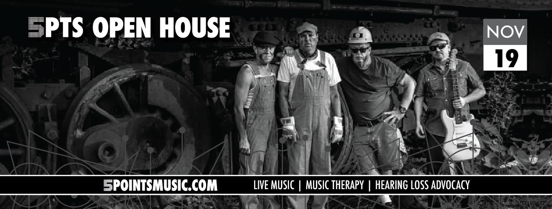 5 Points Open House: DogRocket Blues Band November 19