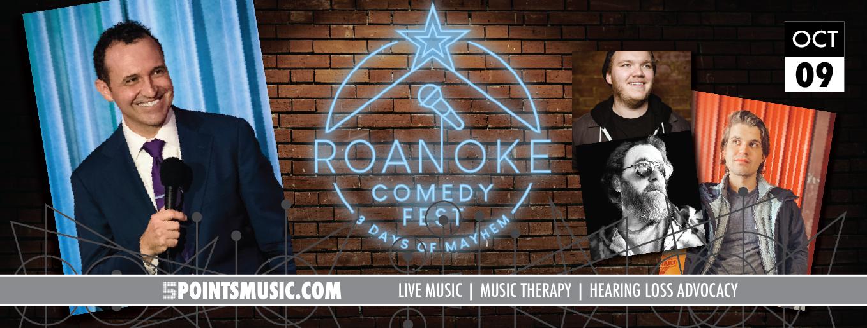 Roanoke Comedy Fest October 9