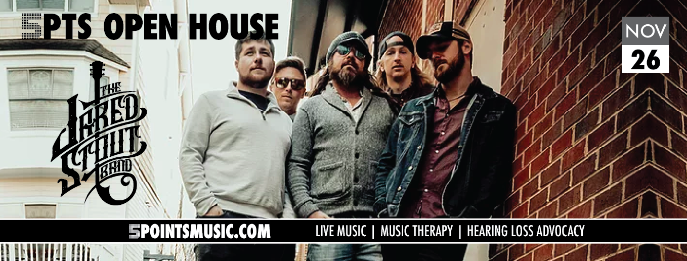 5 Points Open House with the Jared Stout Band November 26